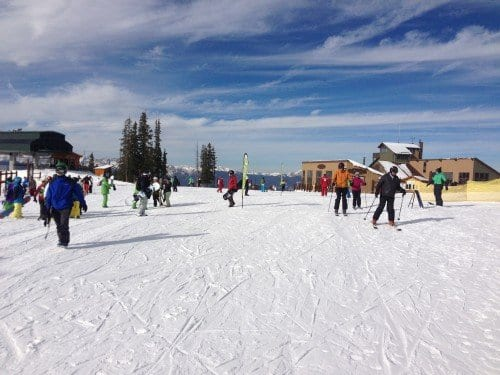 Opening day at Keystone Resort