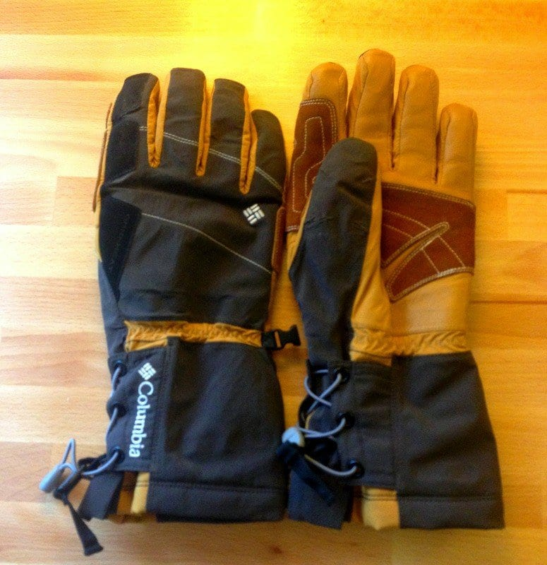Columbia Snow Stryker Softshell Glove