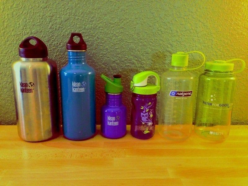 BPA Free Water Bottles