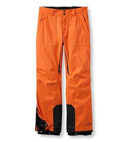 LL Bean Carrabassett Ski Pants
