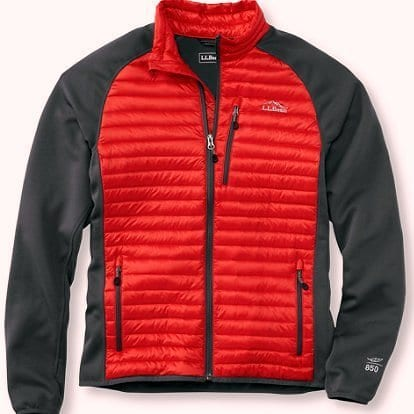 L.L. Bean Ultra Light 850 Down Fuse Jacket
