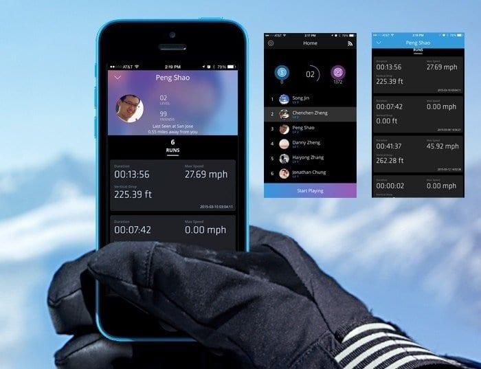 GogglePal Phone Display