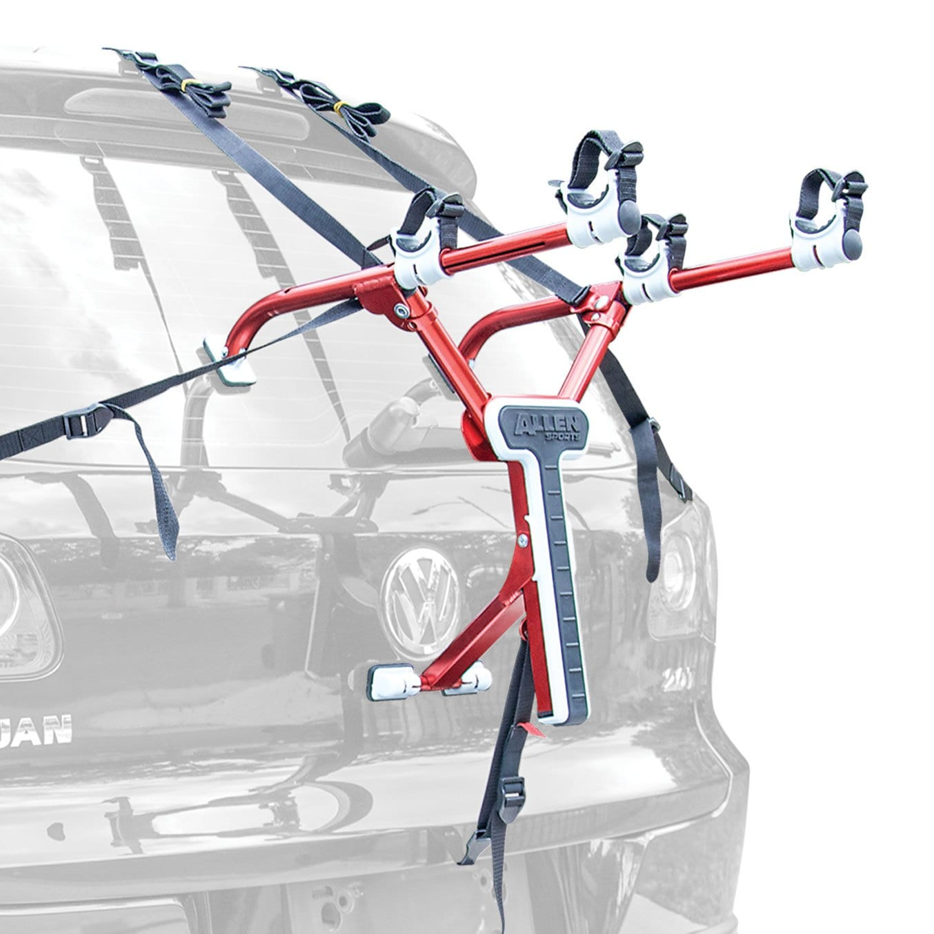 Allen Sports Aluminum Compact Two Bike Trunk Carrier