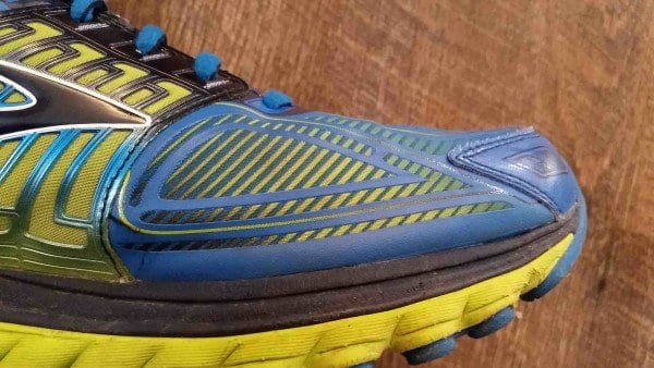 Brooks Glycerin 13 Toe Box