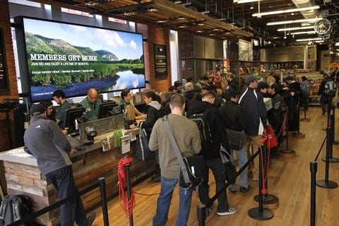 REI Closes for Black Friday