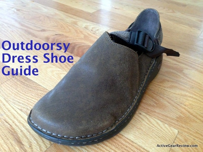 outdoorsy dress shoe guide