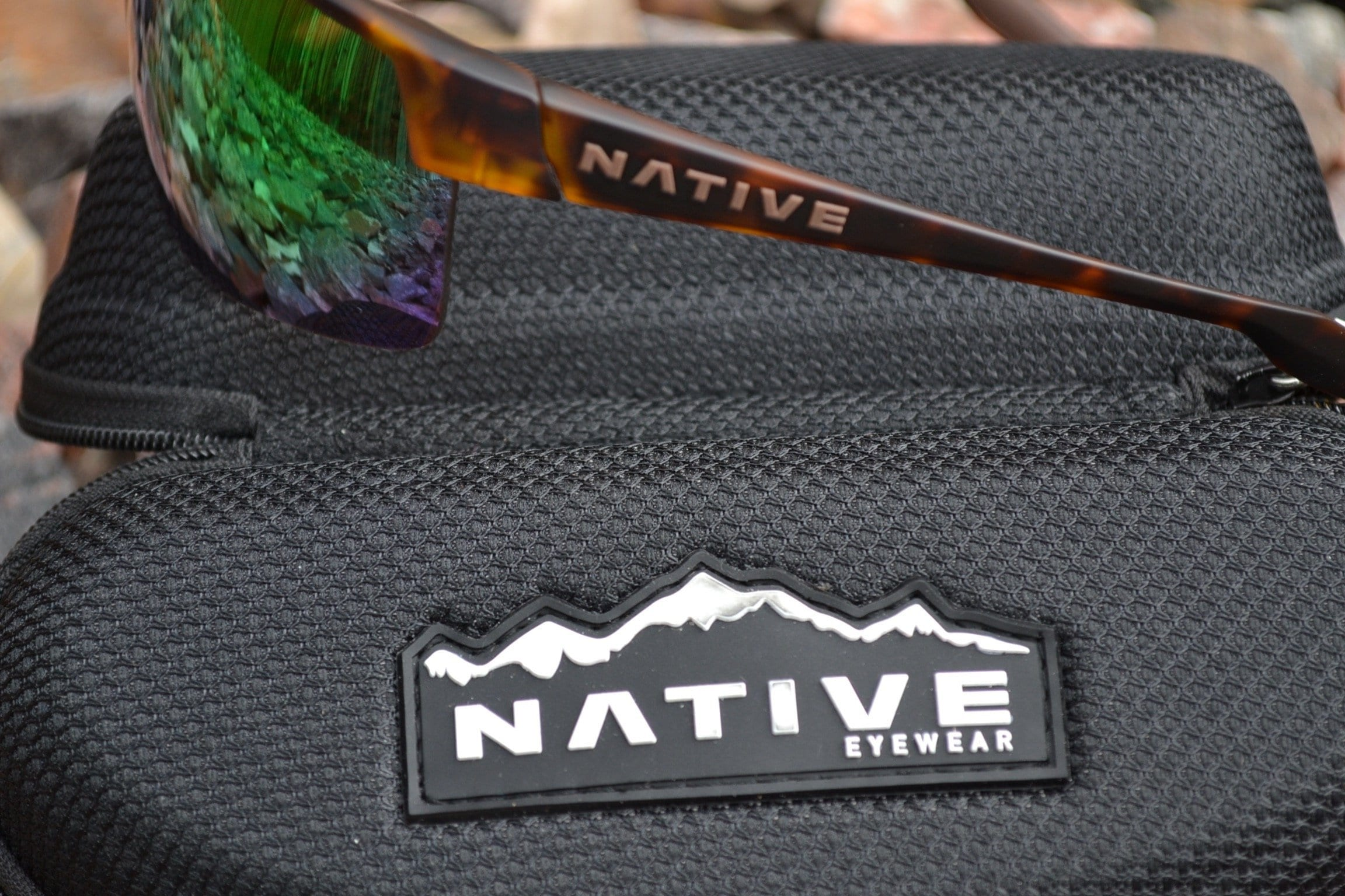 1df294067b6 Product marking along each temple identifies the Native Eyewear Hardtop  Ultra XP