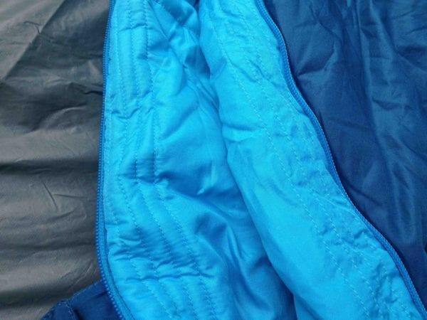 Sleeping bag draft tube