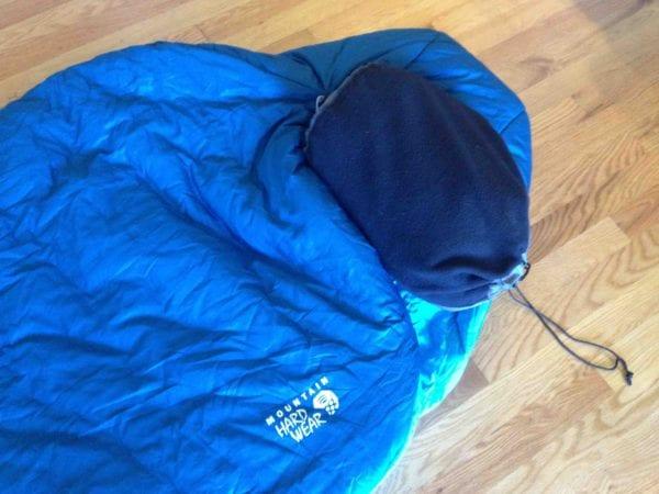 fleece lined stuff sack