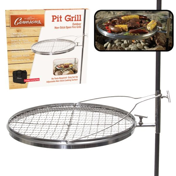 Camerons Open Fire Pit Grill