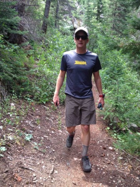 Hiking in OR Ferrosi Shorts