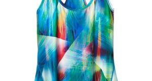 Athleta Tropea Chi Tank with Polygiene