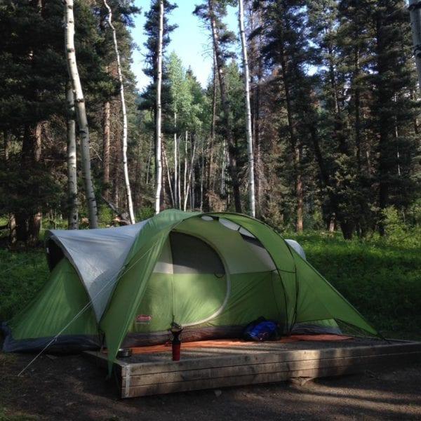 sneffels camping