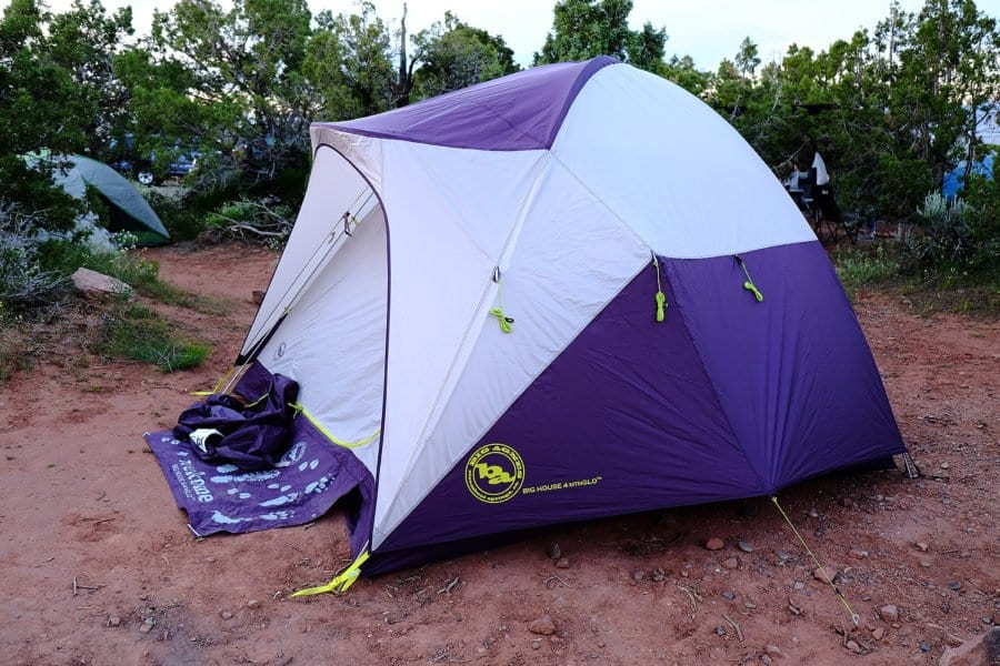 Big Agnes 4 mtnGLO® Tent Review & Kelty Mach 4 Tent Review - Active Gear Review