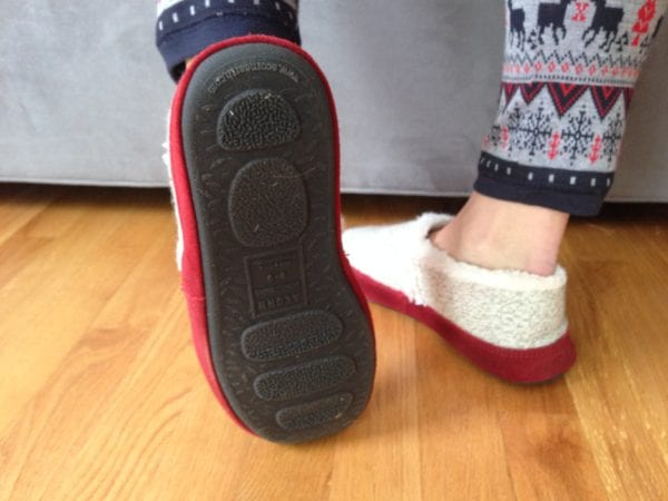 Moc Ragg Slipper Sizing