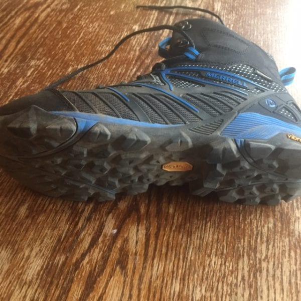 Merrell Capra Venture Mid Hiking Boot Vibram Megagrip