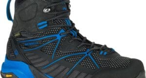 Merrell Capra Venture Mid Hiking Boot Lugs
