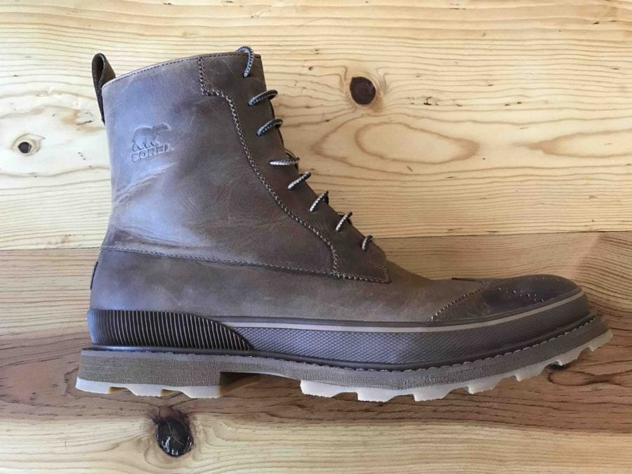 535acbe87 Sorel Madson Wingtip Boot Review - Active Gear Review
