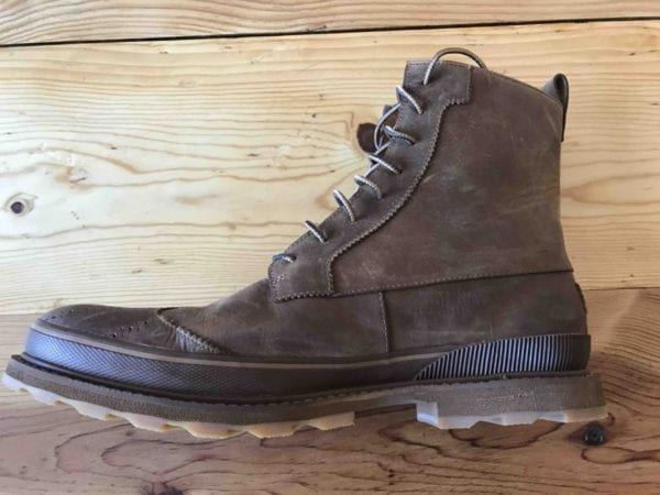 Sorel Madson Wingtip Boot side view