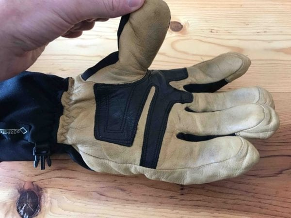 Leather Palm on Gloves