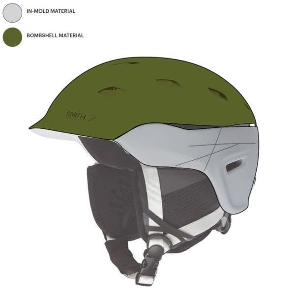 Smith Quantum Helmet Shell Material