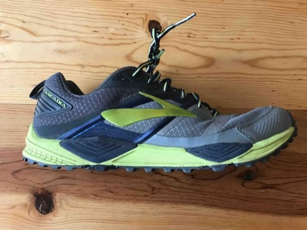 0a5f6d745b2 Brooks Cascadia 12 Upper. While the outsole is usually the most distinct  feature on a trail running shoe
