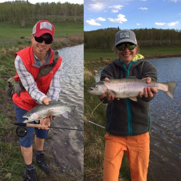 A couple good fish with Echo Trip