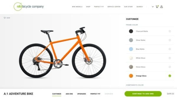 roll bicycle website