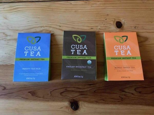 Cusa Tea Flavors