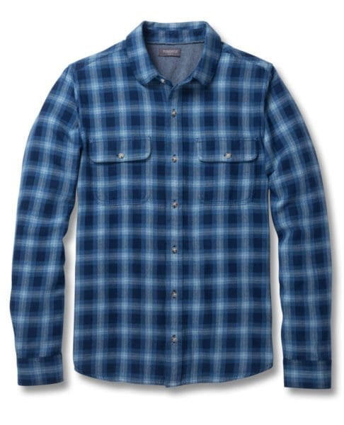 Toad and Co Indigo Slim Flannel Shirt