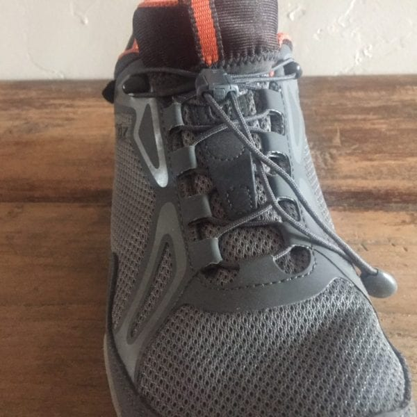 Oboz Crest Low Waterproof Shoe Lacing System