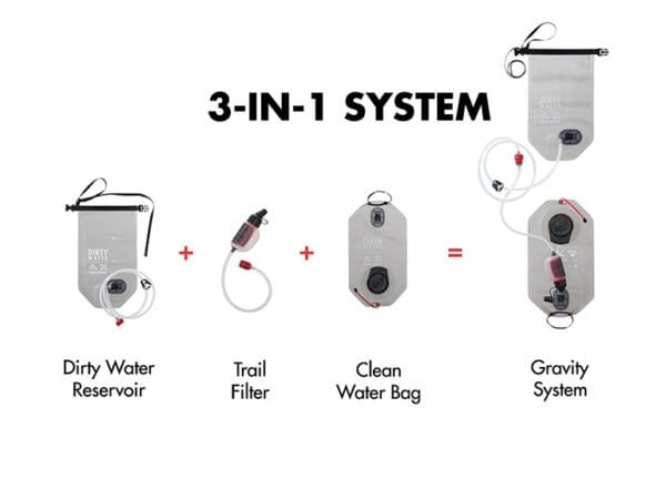MSR Gravity + Trail Water Filter Kit