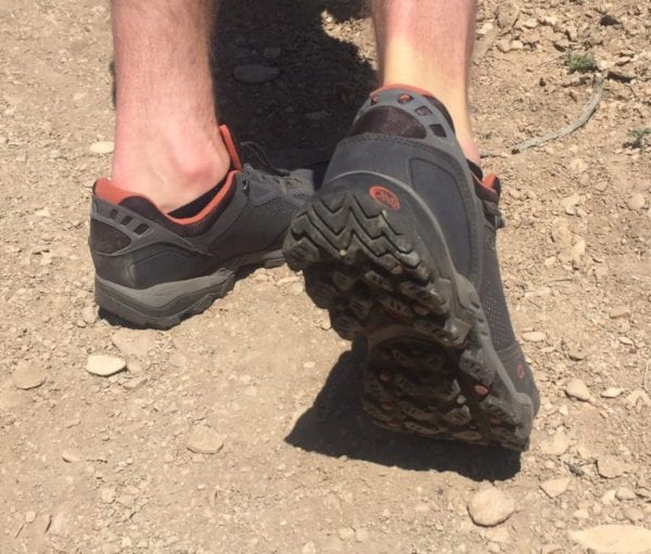 Desert Hiking Oboz Crest Low Waterproof