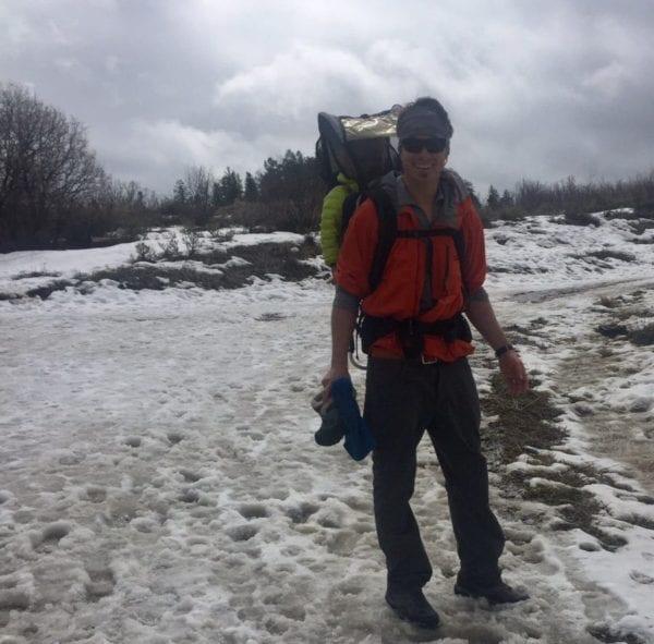 Oboz Crest Low Hiking Soggy Trails