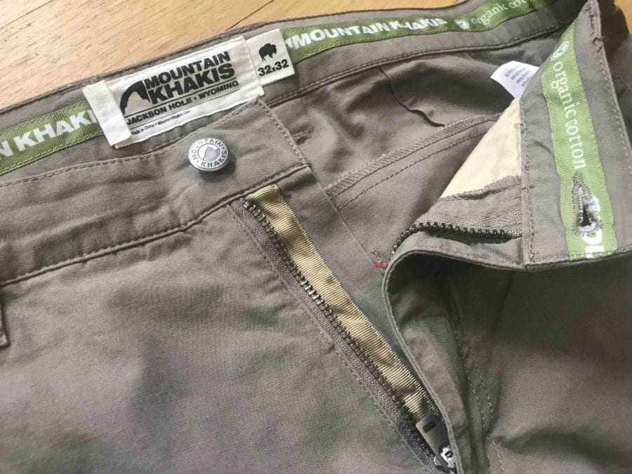 Mountain Khakis All Mountain Pant Features