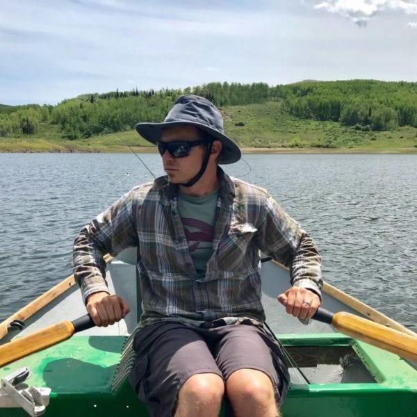 Tilley Hiker's Hat on a float trip