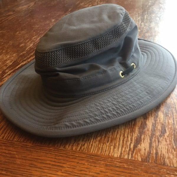 Tilley Hiker's Hat Material