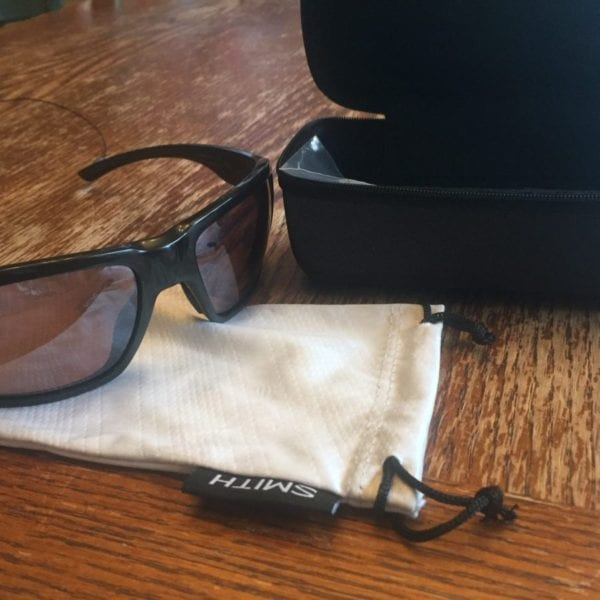 Smith Highwater Sunglasses with Case and Bag