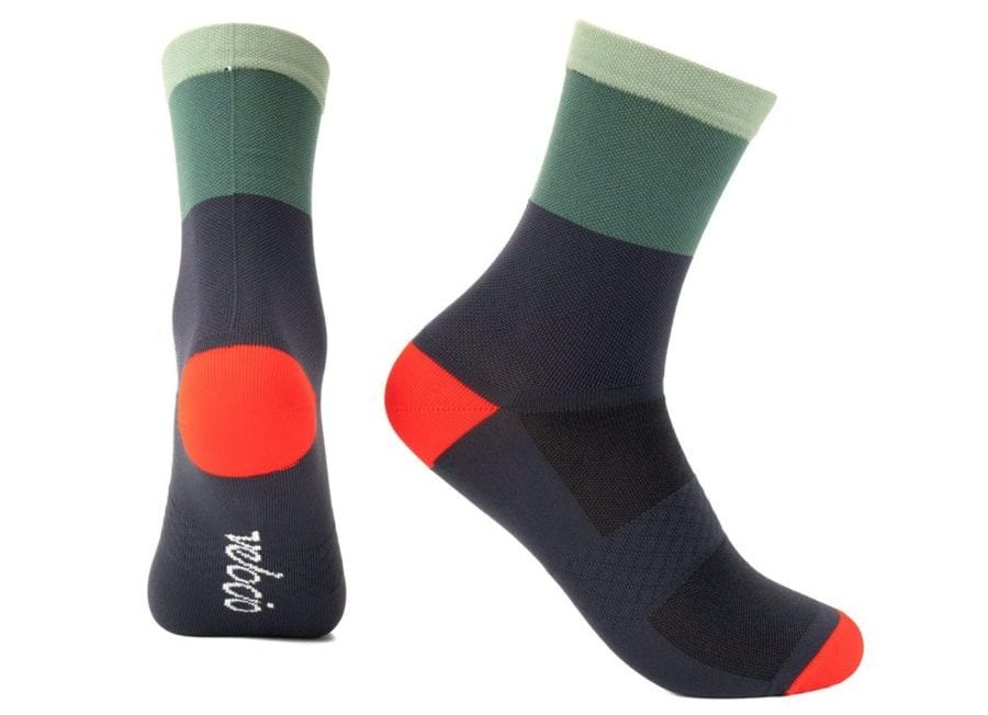 Velocio Tricolor Signature Sock