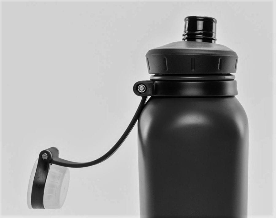 Nathan Sports HammerHead 24 oz. Steel Insulated Water Bottle