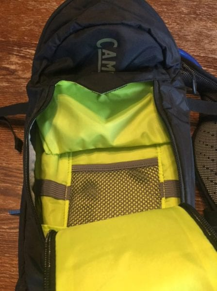 Camelbak T.O.R.O. 8 Crux main pocket