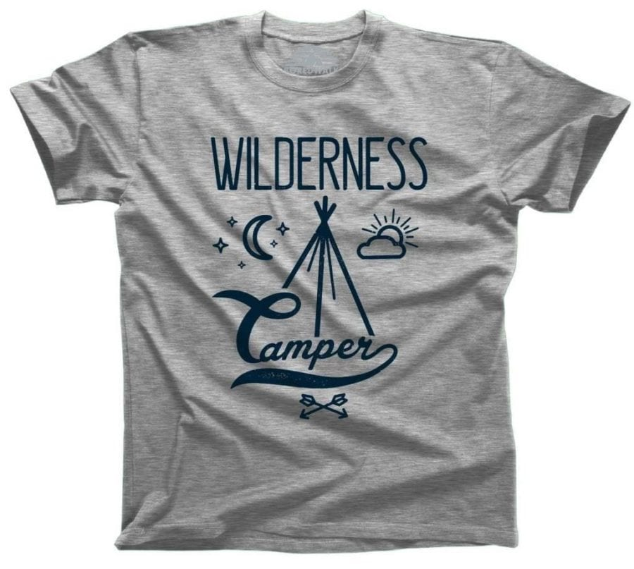BoredWalk Wilderness Camper T-Shirt
