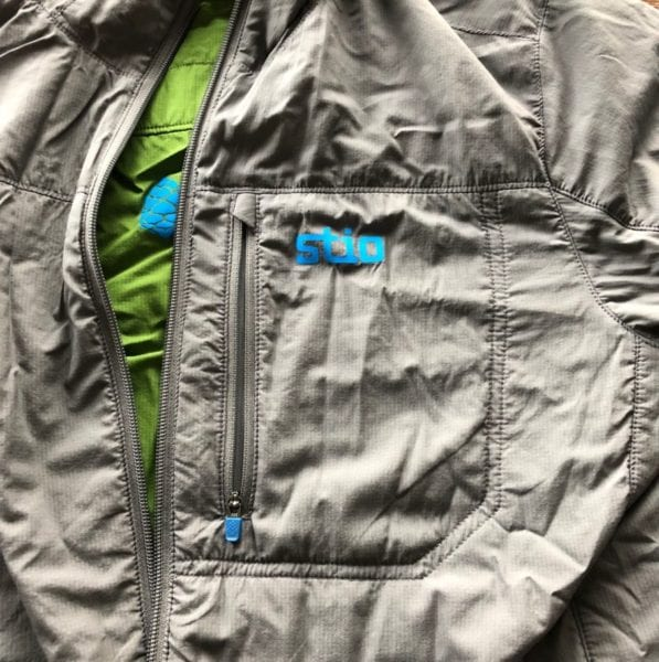 Stio Alpha Alpine Hooded Jacket Chest Pocket