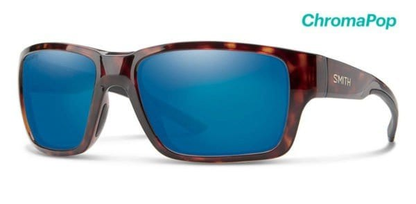 Smith Outback Sunglasses with Chromapop Polarized Blue Mirror lens